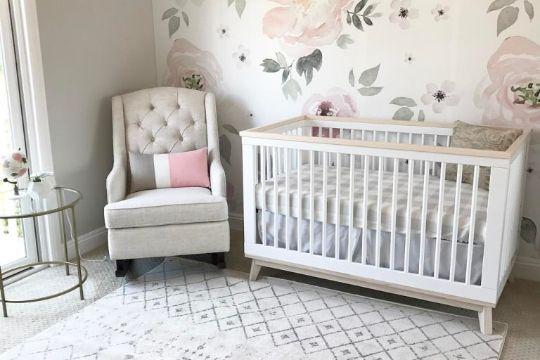 cuartos para niñas bebes modernos