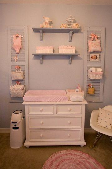 cuartos para niñas bebes muebles y repisas