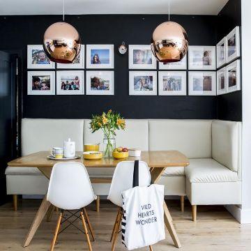 decoracion de comedor y salas pequeñas cuadros
