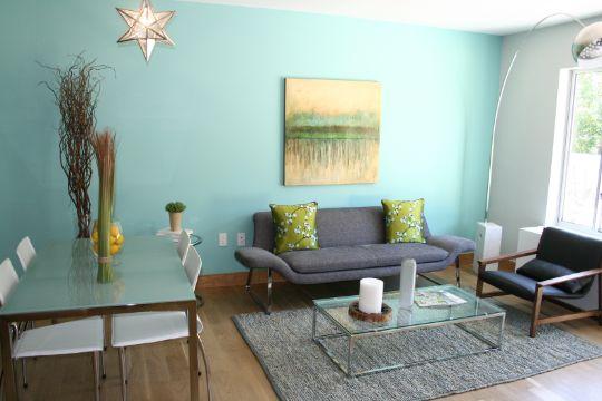 decoracion de comedor y salas pequeñas minimalistas