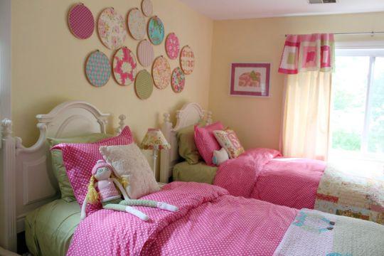 decoracion de cuarto de niña para paredes