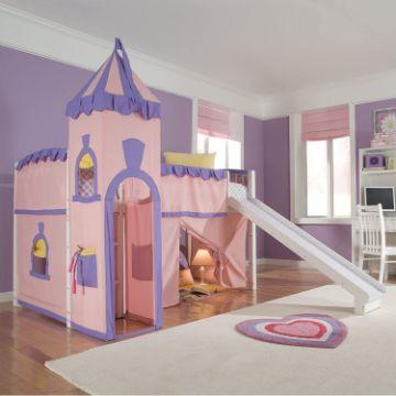 decoracion de cuarto de niña princesas