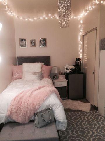 decoracion de cuarto para señorita iluminación