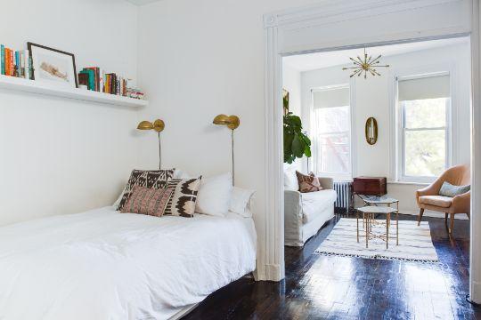 decoracion de dormitorios pequeños en departamentos