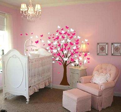 decoracion de habitaciones para niñas bebes