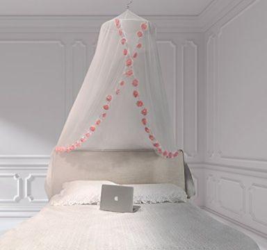 decoracion de habitaciones para niñas dosel