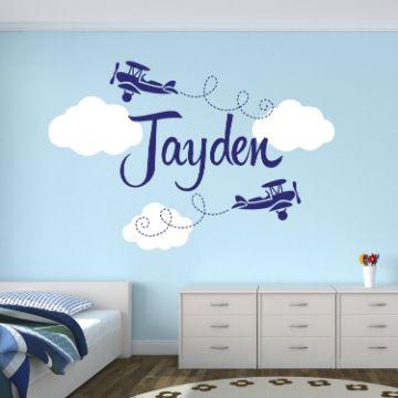 decoraciones para un cuarto de bebe viniles