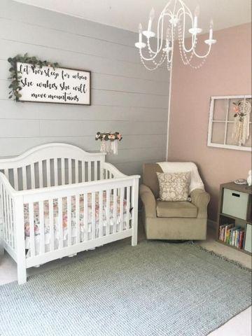 decorar cuartos de bebes vintage