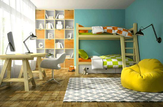 decorar un cuarto de niño compartidos