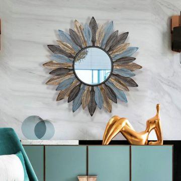 espejos decorativos para la sala marcos de sol y flor