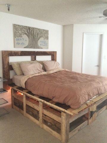 muebles hechos con palets camas