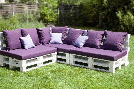 muebles hechos con palets para exteriores