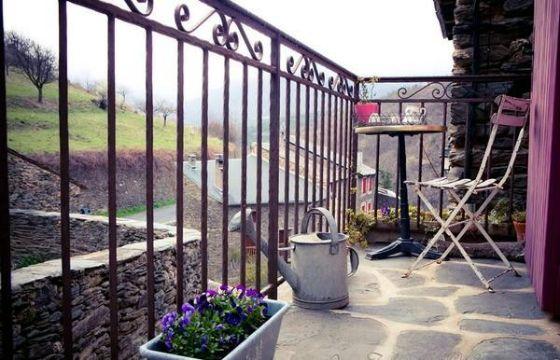 terrazas rusticas de campo y balcones