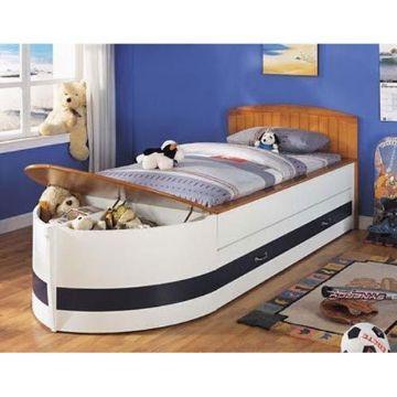 camas de madera para niños con formas originales