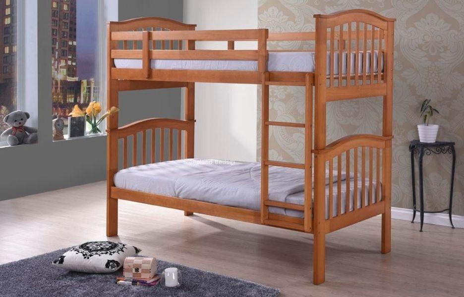 camas de madera para niños literas