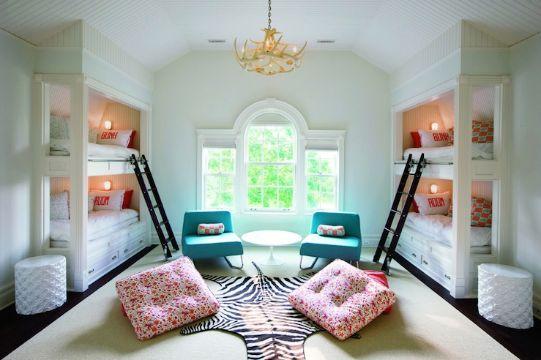 camas modernas para niñas para hermanas