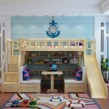 camas modernas para niños funcionales