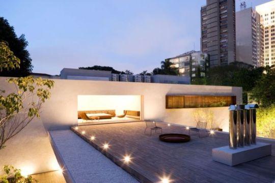 casas con terrazas modernas elegantes