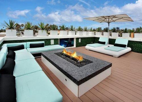 casas con terrazas modernas grandes