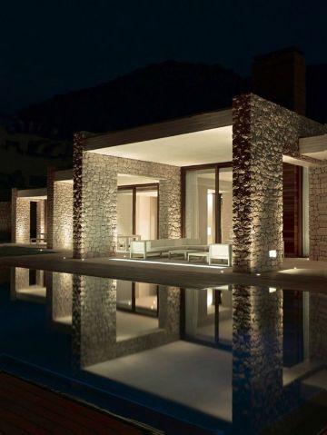 casas con terrazas modernas tipo plataforma