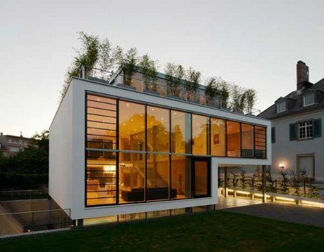 casas con terrazas modernas y roofgarden
