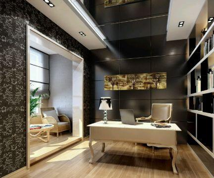 cuartos de estudio modernos y pequeños elegantes