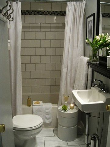 decoracion de baños sencillos y pequeños muebles