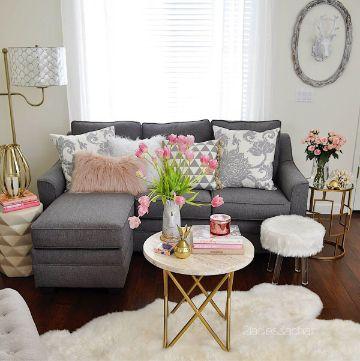 decoracion para salas pequeñas sencillos detalles