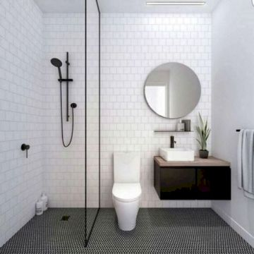 diseño baños pequeños elegantes
