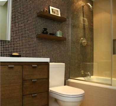 diseño baños pequeños muebles