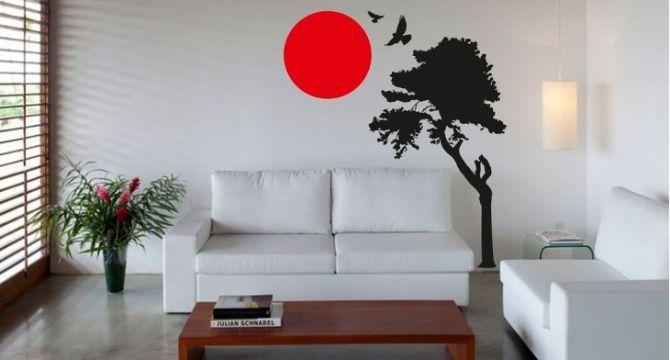 diseño de paredes para salas viniles