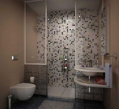 diseños de baños con ceramica cuadros