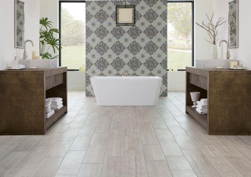 diseños de baños con ceramica modernos