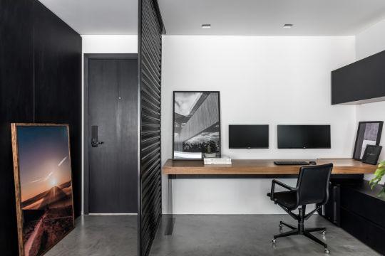 espacios home office escritorio montado