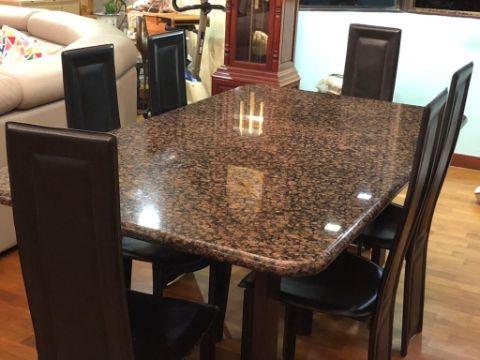 mesas de granito para cocina grandes