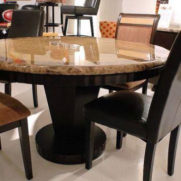 mesas de granito para cocina redondas