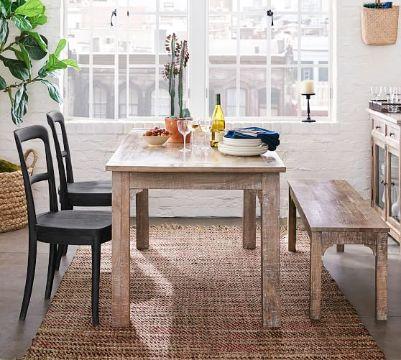 mesas para cocinas pequeñas rustico