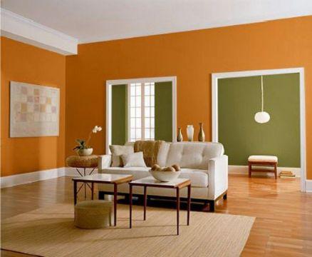 paleta de colores para paredes interiores tonos calidos