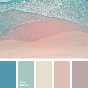 paleta de colores pasteles naturalidad