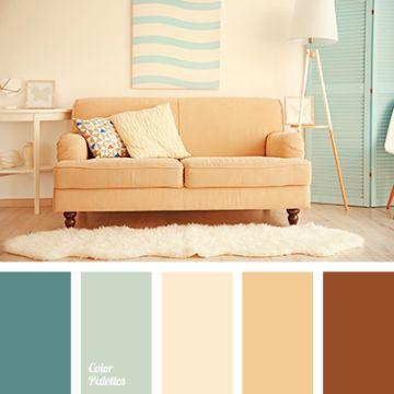 paleta de colores pasteles para salas