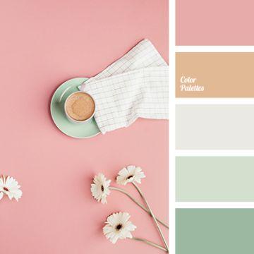 paleta de colores pasteles vintage