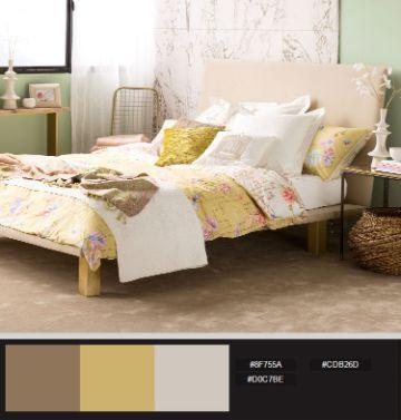 paletas de combinacion de colores recamaras