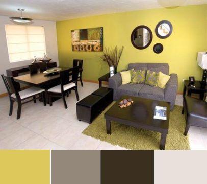 paletas de combinacion de colores sala y comedor