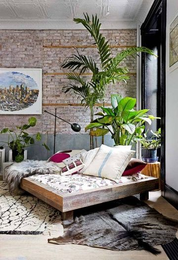 plantas para decorar recamaras modernas