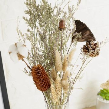 plantas secas decorativas ramo