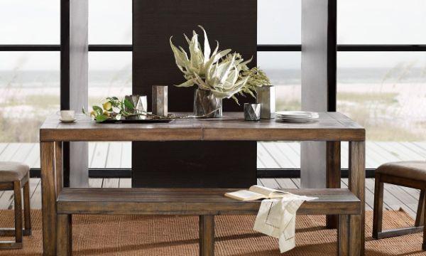 decoracion de mesas de comedor floreros de metal