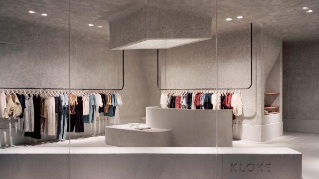 decoracion de tiendas de ropa moderna