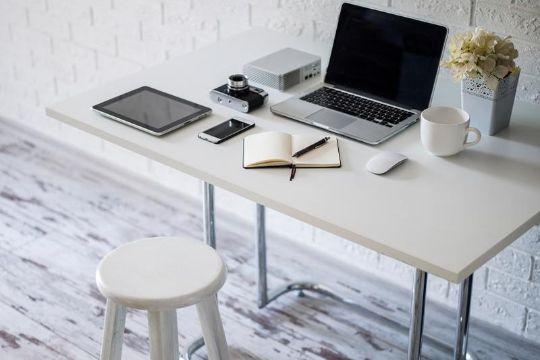 decoracion home office minimalista