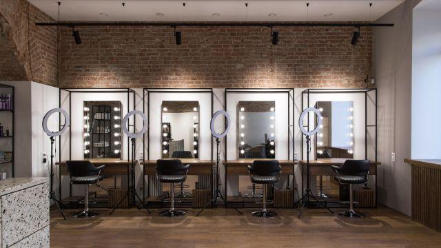 diseño de salones de belleza modernos