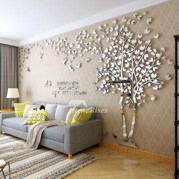 diseños para paredes de salas figuras en relieve